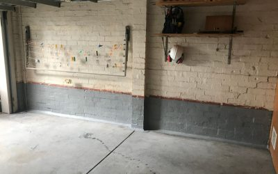 Damp Proofing and Tanking the Leaking Garage Wall