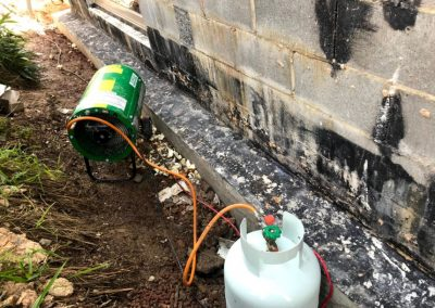 Waterproofing Heating