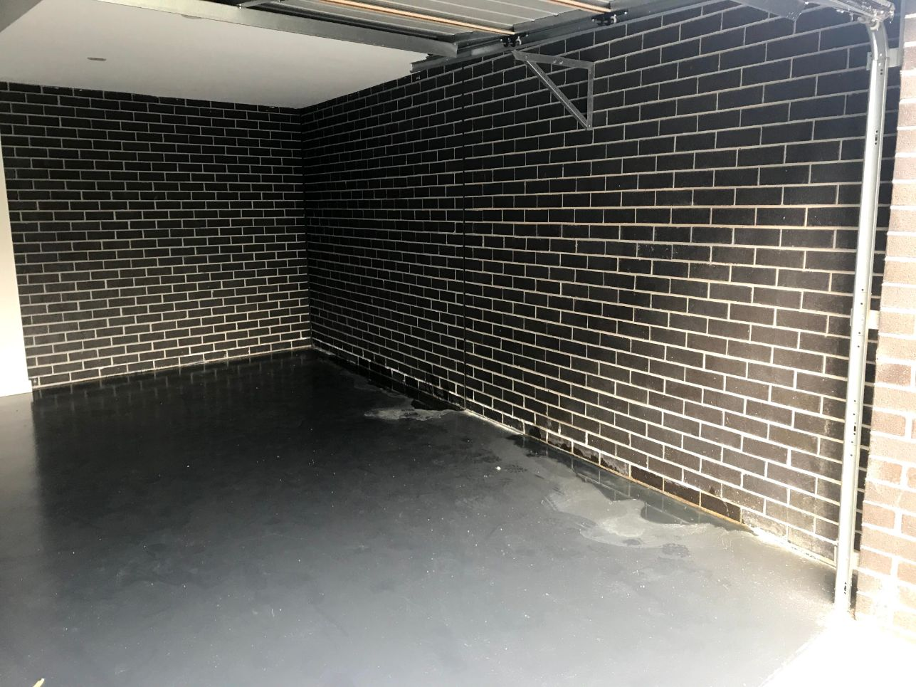 Garage Waterproofing Melbourne Before