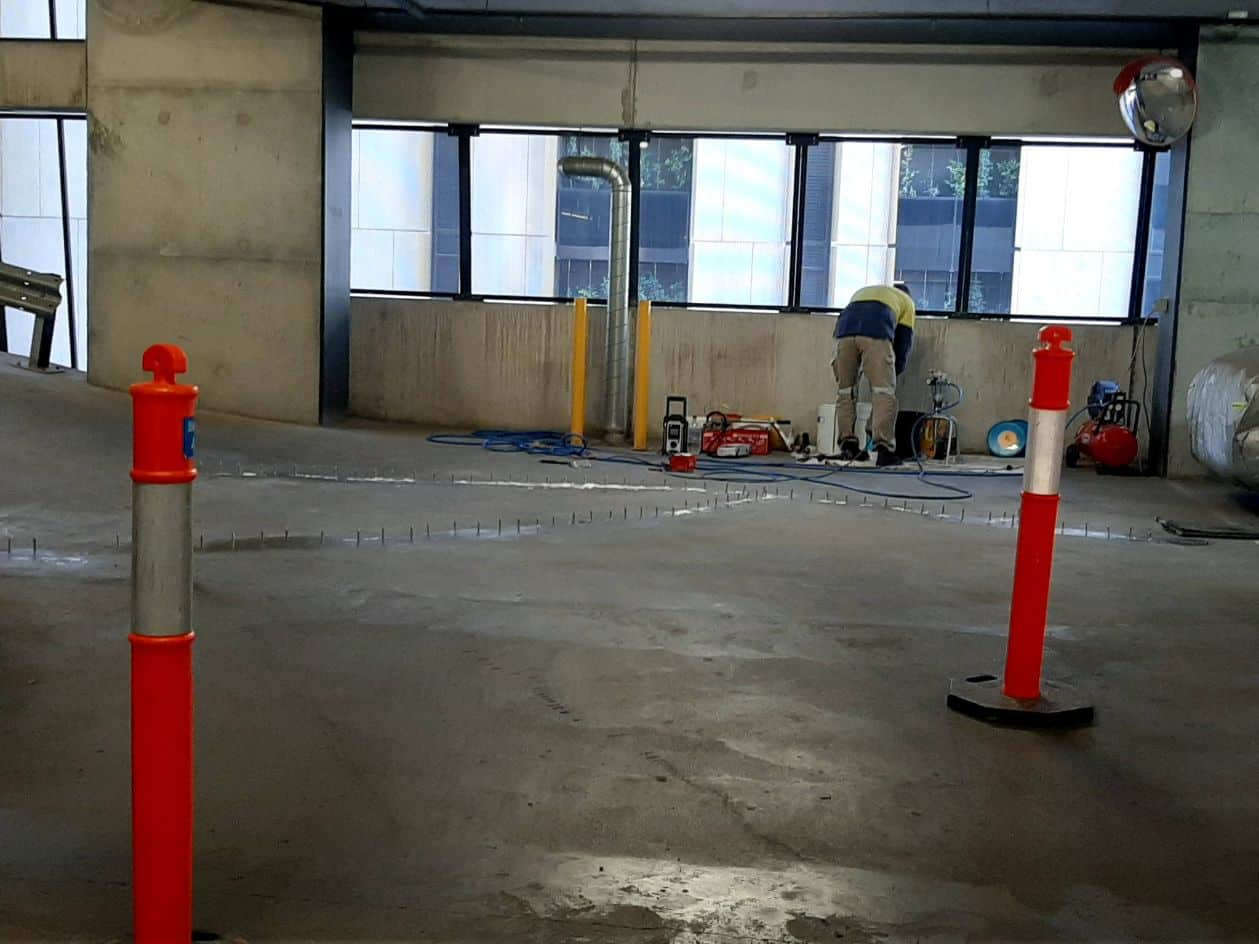 CBD Parking Crack Injection - 8