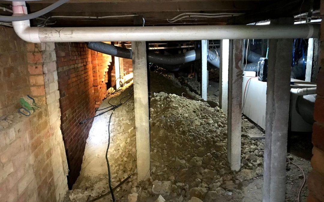 Waterproofing the Outside Garage Wall in Balwyn North