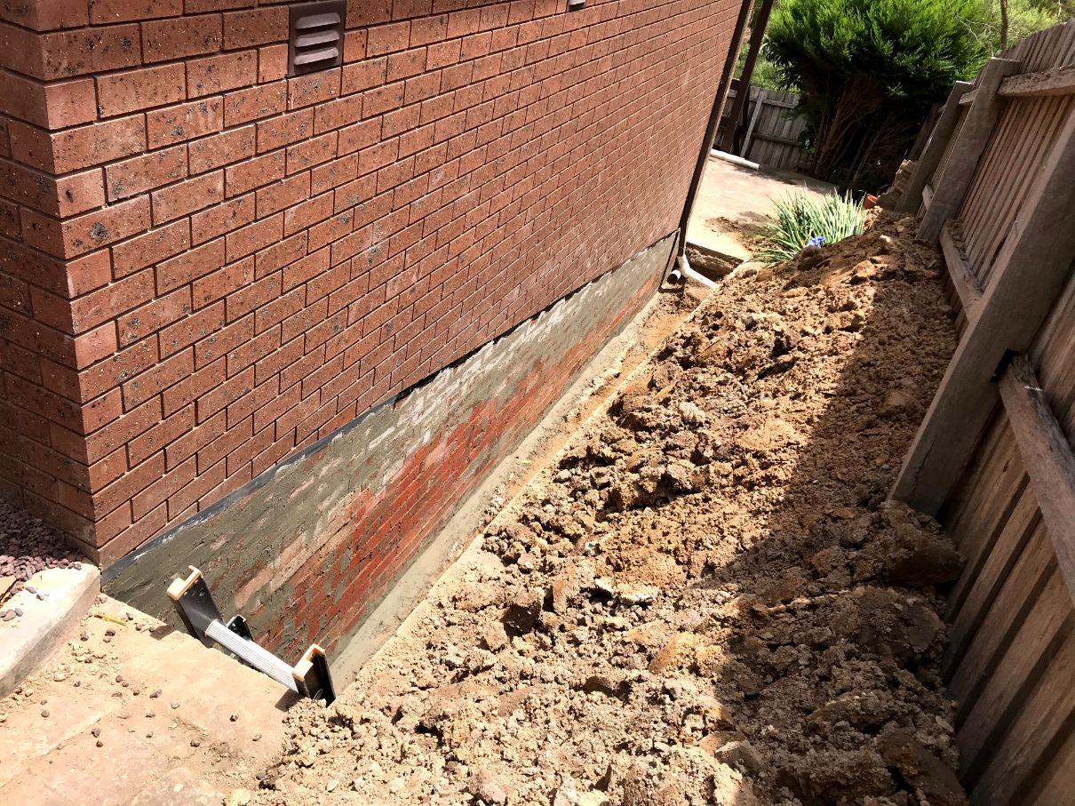 Waterproofing Rendering
