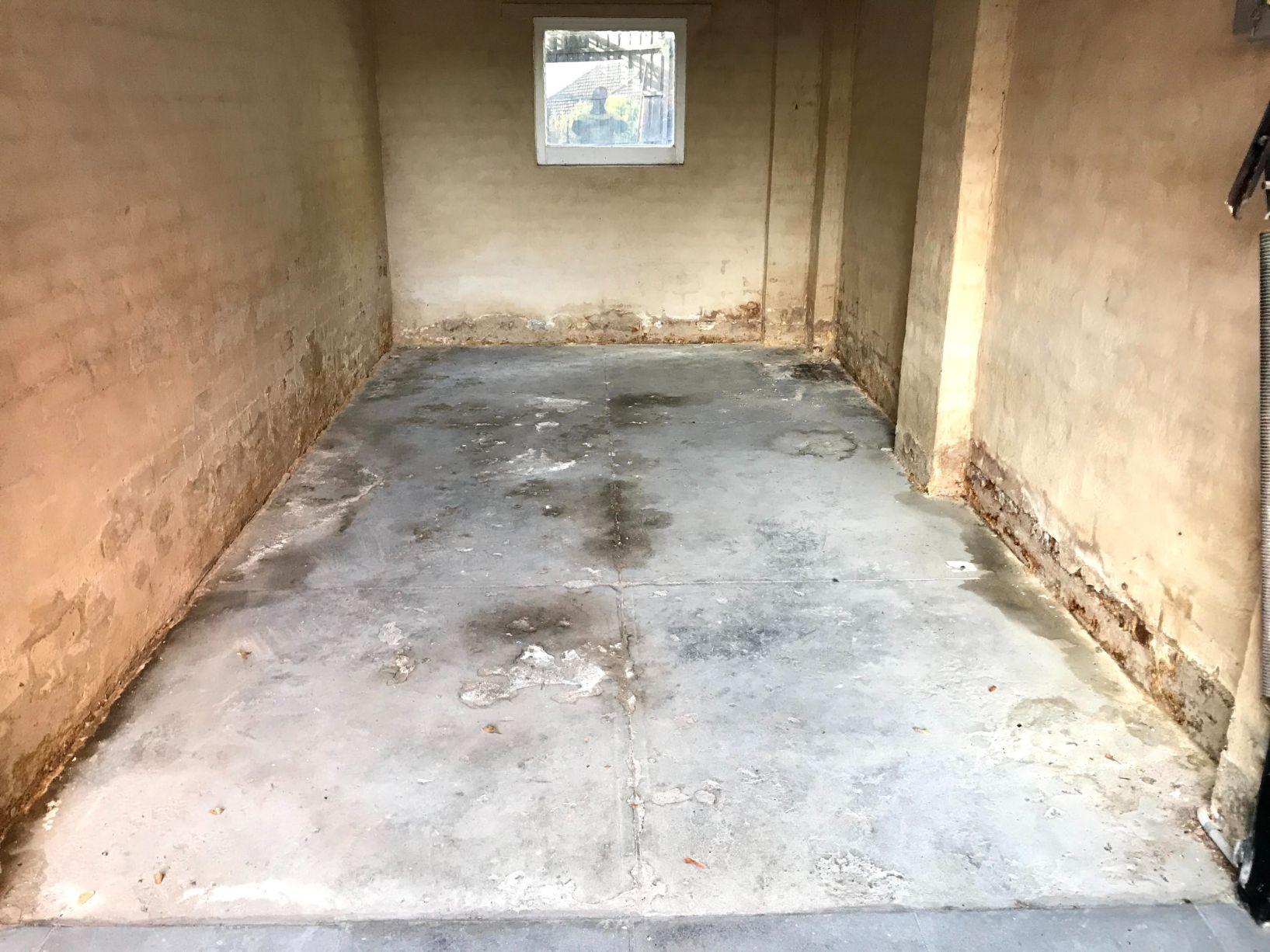 Leaking Garage Waterproofing
