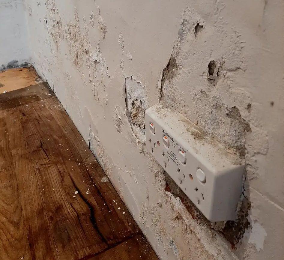 Salty Walls Rising Damp - 2